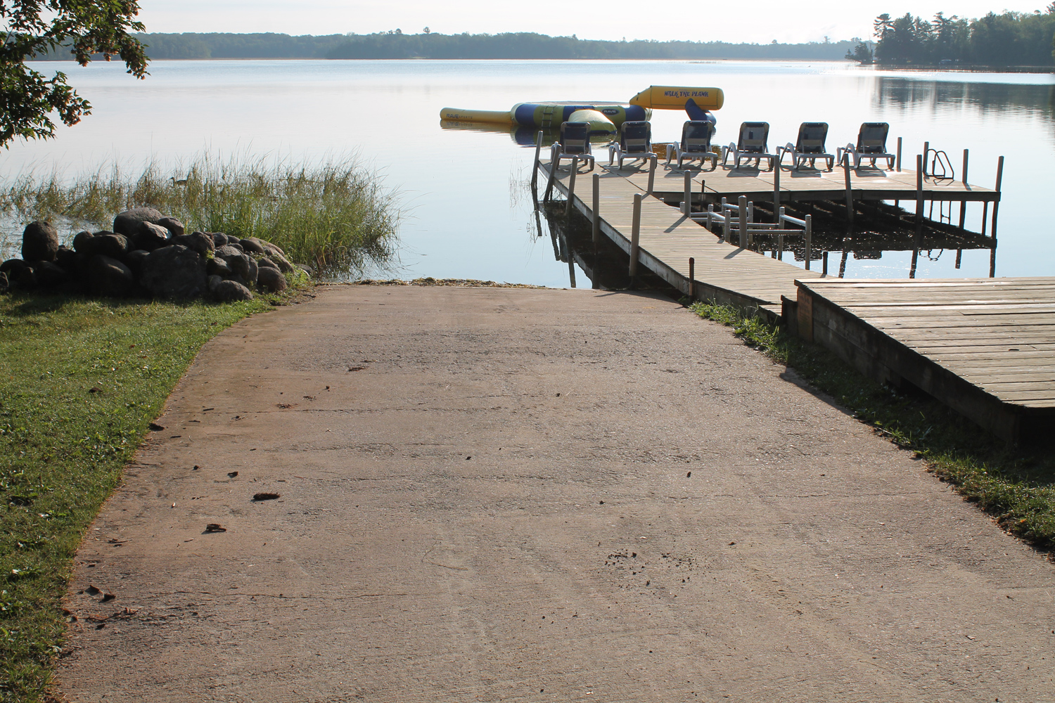 Guests can requet use of our Private Boat Launch at Broadwater Lodge