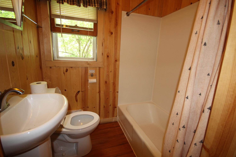 Full bathroom with tub / shower