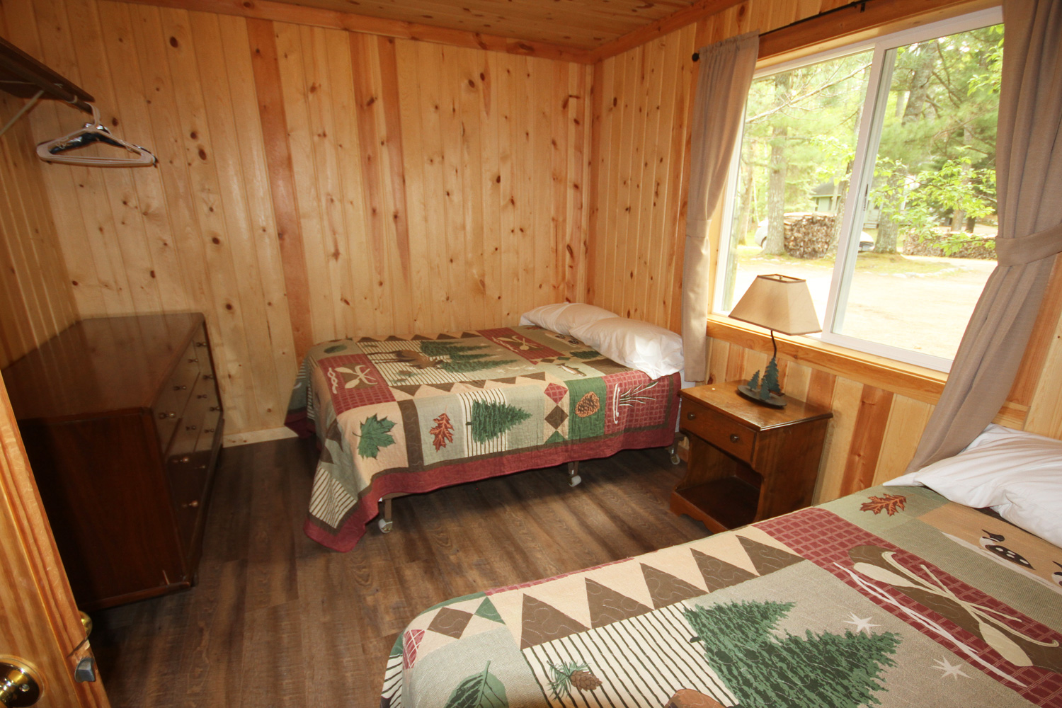 Large bedroom with Two Double Beds
