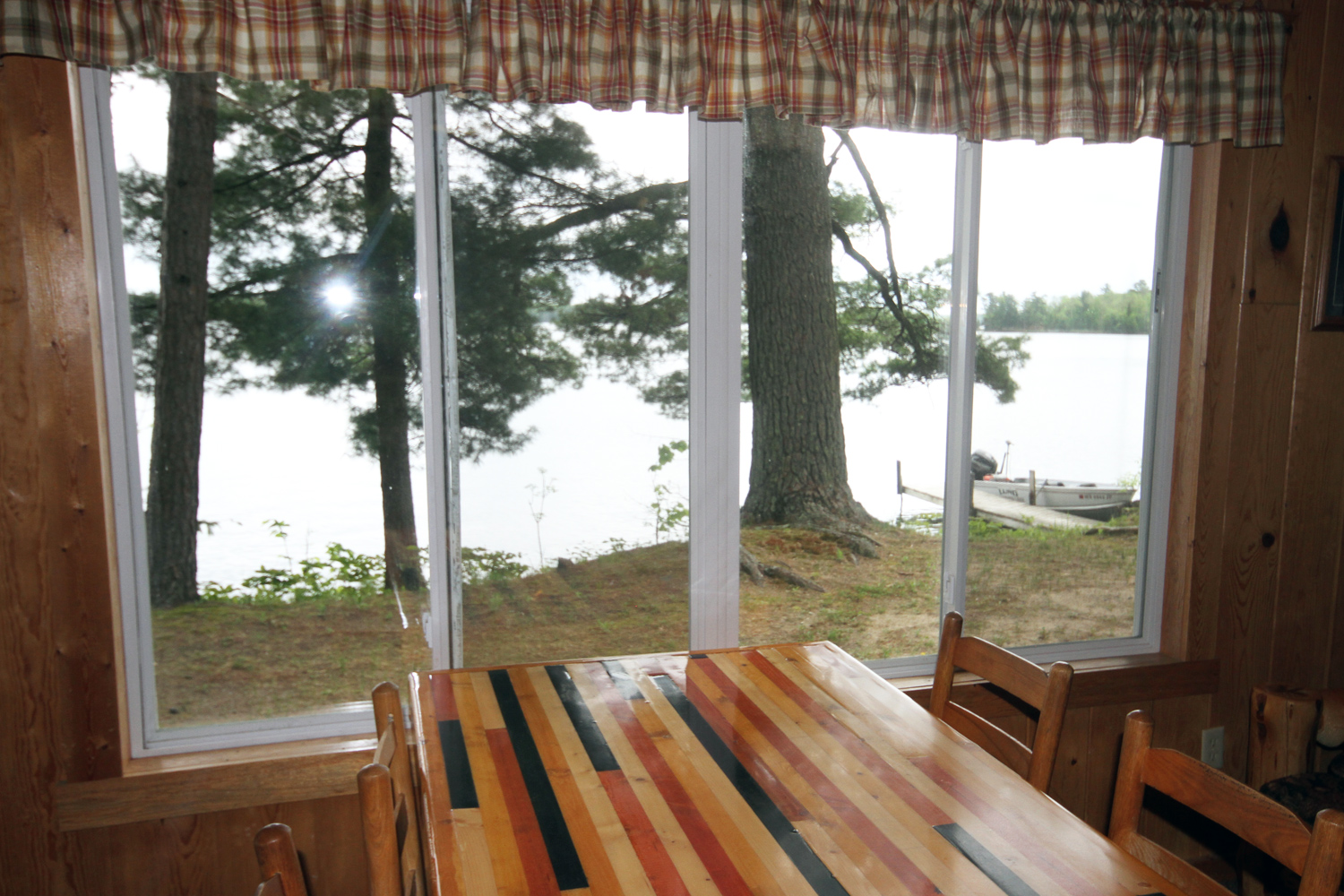 Great View of the Lake from the Dining Table