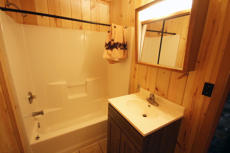 Full Bathroom with Tub & Shower
