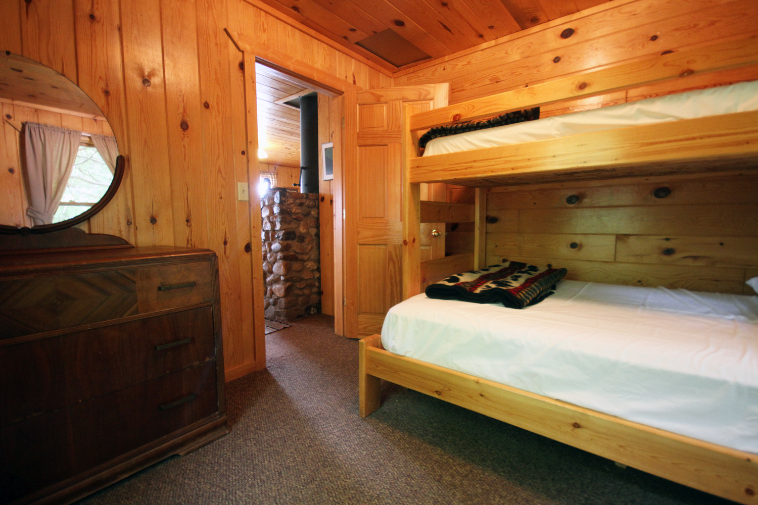 Third Bedroom with Double & Twin Bunks