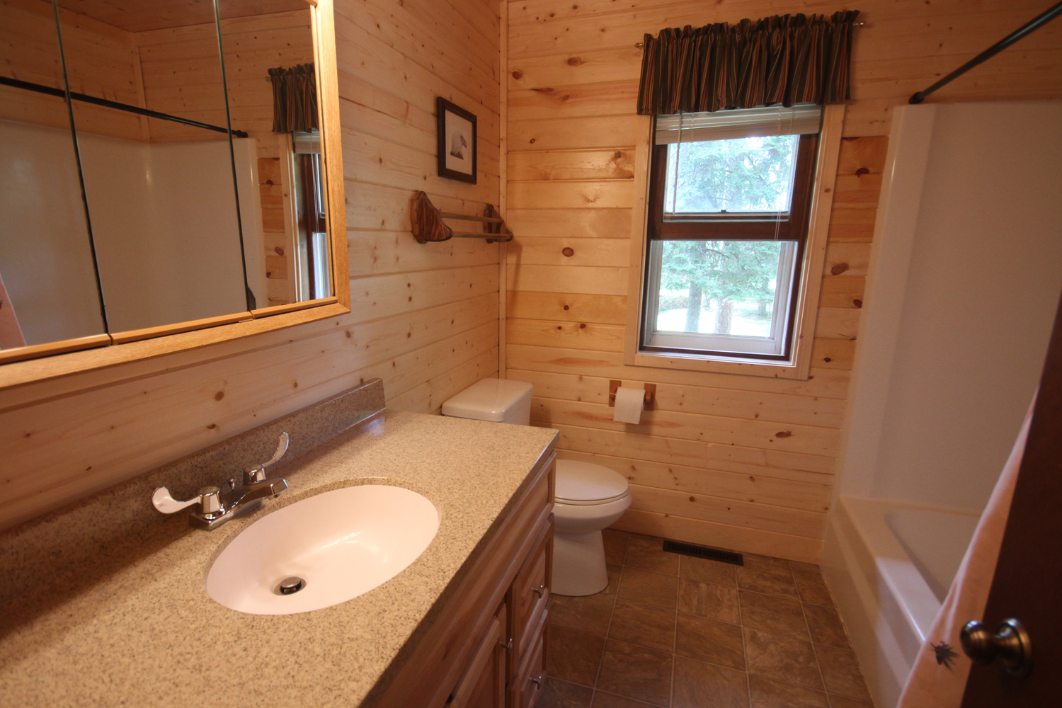 Full Bathroom with tub / shower