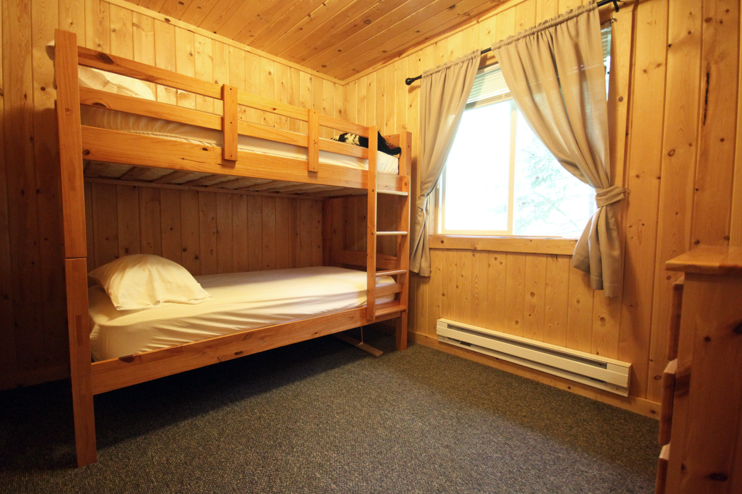Upper Level Third Bedroom with Twin Bunks