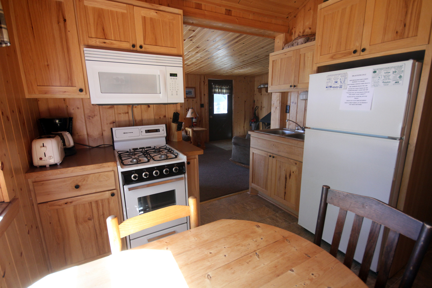 Centrally located Kitchen with a great view