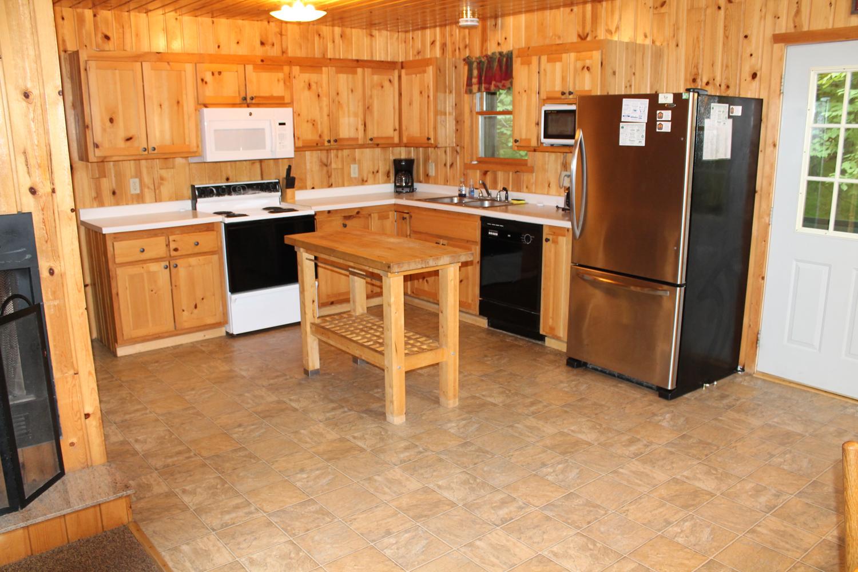 Spacious Open Kitchen
